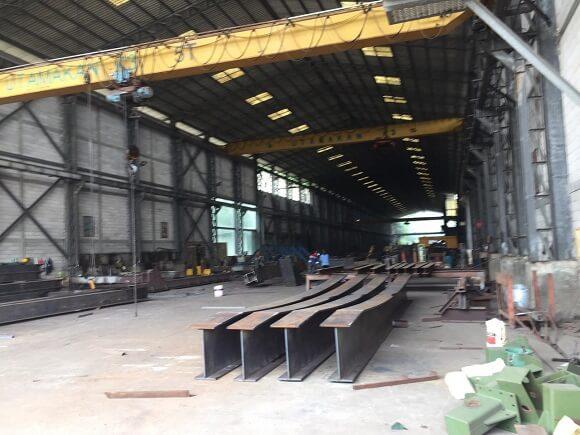 fabrikasi Jembatan Baja